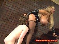 Big tit mistress facesitting