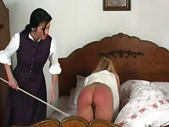 Spanked in Bed