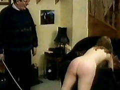 Naughty Schoolgirl Spanked !