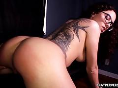 Spanking Roxanne Rae's Bubble Butt