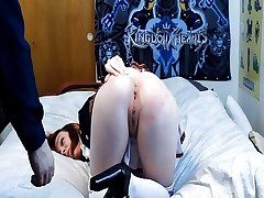 Roxy school girl spanking