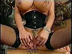 Mammal Vagina. Advanced piercing. Fisting