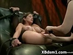 Peculiar Uninhibited Hottie Nearly Luring BDSM Milf