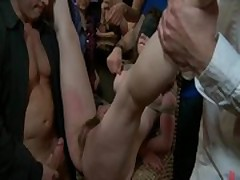 Hot playgirl tied and ass fucked