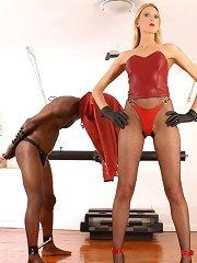 Lady humiliate malesub