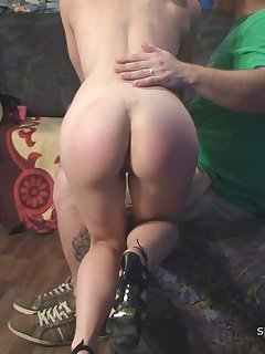 <!–-IMAGE_COUNT-–> of Adrienne and Jade - Spanking, Sex and Spanking (part 2 - angle 2)