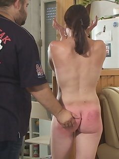 10 of Natasha - Until the Hourglass Runs out - painful hand spanking