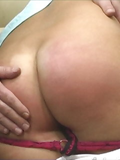 <!–-IMAGE_COUNT-–> of Painful OTK spankings with 8 girls