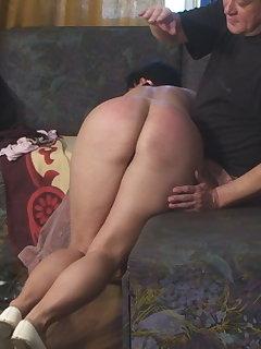 <!–-IMAGE_COUNT-–> of First Punishment: Jade`s OTK Spanking