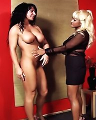 Maxine X ties her latest slave to a chair and makes her cry in a mix of pleasure and pain