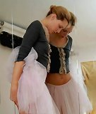 Ballerina gets punished