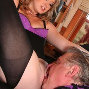 David licking ass and pussy