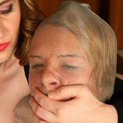 Smothered Slave Megan & Natali