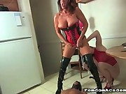 Abject Slave Serves Two Mistresses