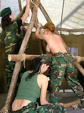 Severe whipping in army