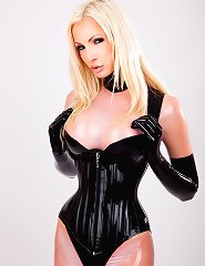 Latex Corset Training