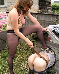 Outdoors cage slave
