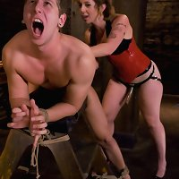 Slut chap is sent to therapy by his girlfriend for behavior modification and acquires used and rammed in the butt instead!