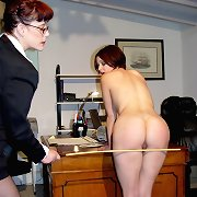 Caning in office