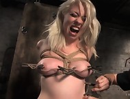 Bondage and discipline of slavegirl