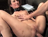 Slave humiliated and fucked in all holes