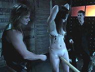 Two masters bondage and fuck slavegirl