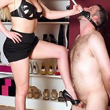 Shoe & Boot Worship, Strap on Training
