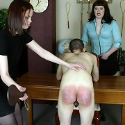 Brutal punishment of bad boy