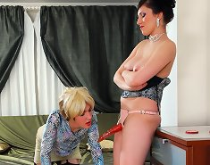 Obedient sissy gets rewarded