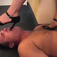 A lot of trampling and a lot of foot worship