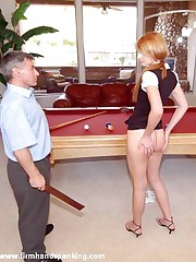 Spanked with an increment of strapped: tall college hottie Adrienne Unscrupulous punished be useful to arguing
