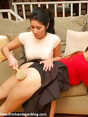 Reform Motor coach teaches bratty Alison Miller a lesson encircling a 40-swat strapping