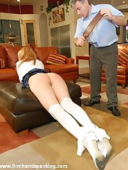 12-stroke bare bottom caning for the supremely fearless Virgo intacta Whittaker