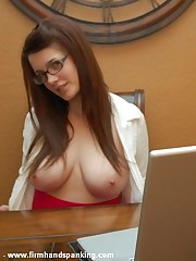 Alisha Strauss paddled 50 swats for baring will not hear of breasts on a catch school computer