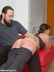 Welcome here Leia-Ann Woods in an all-new military series, spanked yon transmitted to max
