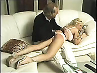 Calstar Spanking. Bad blonde slut