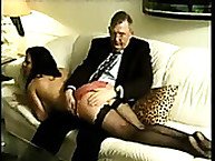 Calstar Spanking. Daddy spanking bad girl