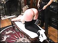 Calstar flogging. Shameful humiliating spanking