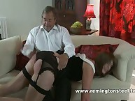 A spanking for Sarah