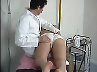 Spanking Shame. Spanking at the doctor's office