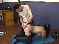 Spanking Shame. Exercise room
