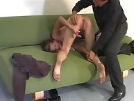Spanking dishonour. comely half-formed girl