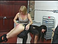 A SORE BOTTOM FROM MISS SMITH