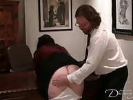 Daddy Seani Reverence orders an obstacle jugs connected with his tryst be expeditious for a in the buff sub caning
