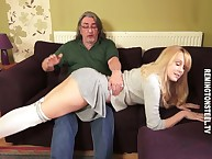 Get under one's alluring bazaar lass obtaining punished otk hard by their way strict hubby.