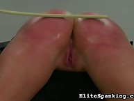Spanking and caning for fun