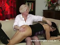 Cool mental defective babe was spanked