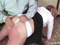 Home otk spanking for poor wife