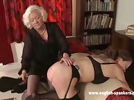 Young babe was punished by granny