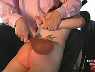 Amber getting spanking therapy